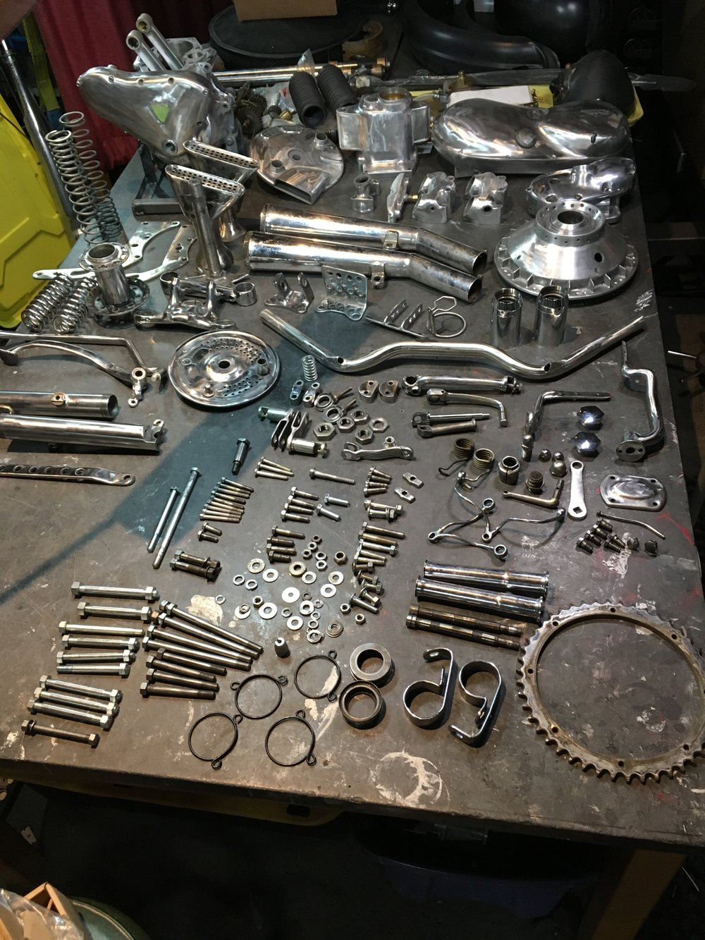 Besides documenting the parts for the plater, it is a good reference to have for assembly.