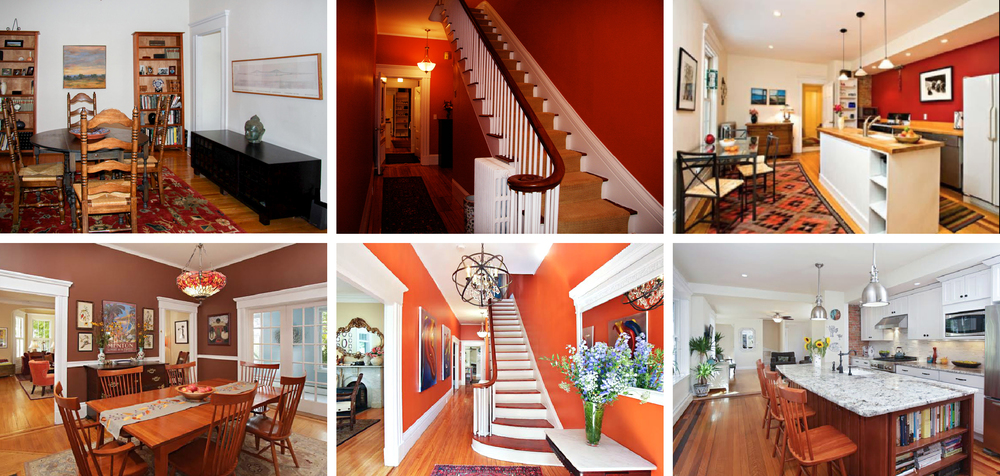 Top Row: Sold for $919K, 2010. Bottom Row: Sold for 1.6M, 2014.