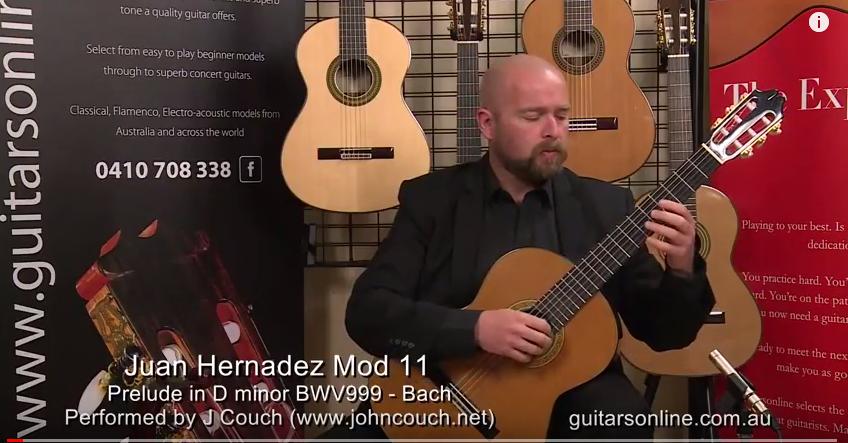 Juan Hernández guitar model 11 — Guitarsonline com au
