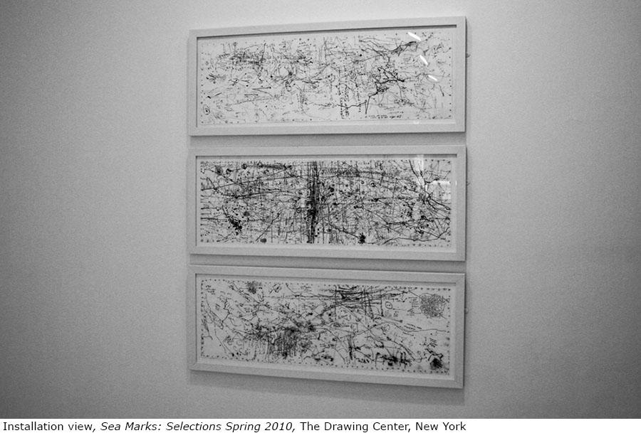 Peter Matthews Sea Marks Drawing Center installation 3.jpg