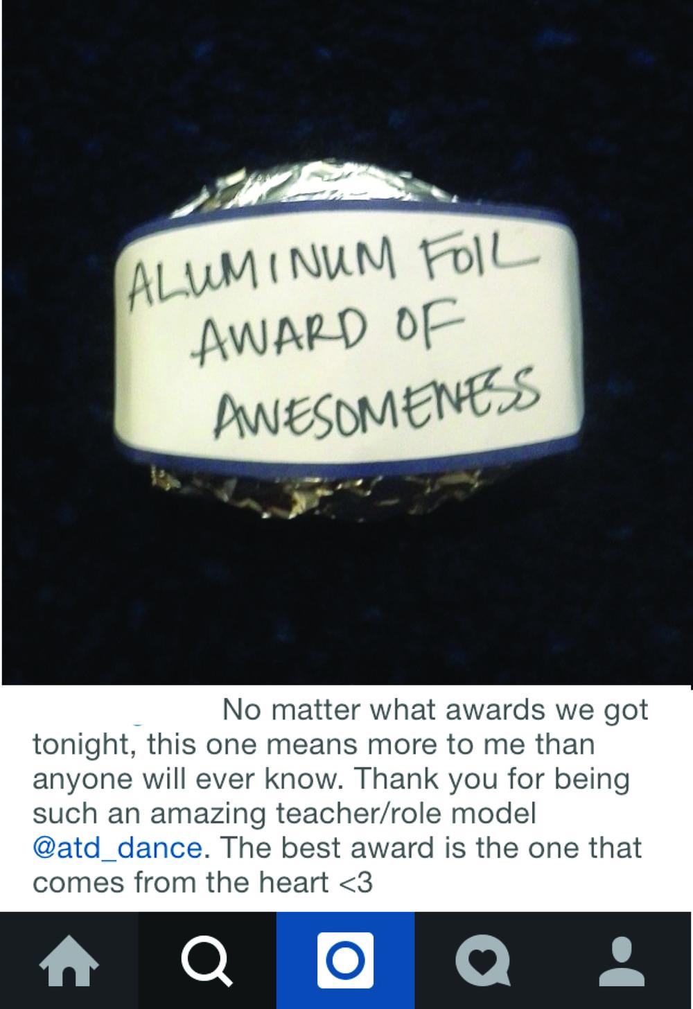 Aluminum Award
