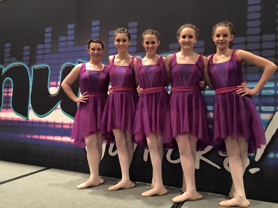 "Expressions Company at Nuvo Dance Convention competing with ""Piano Man."""