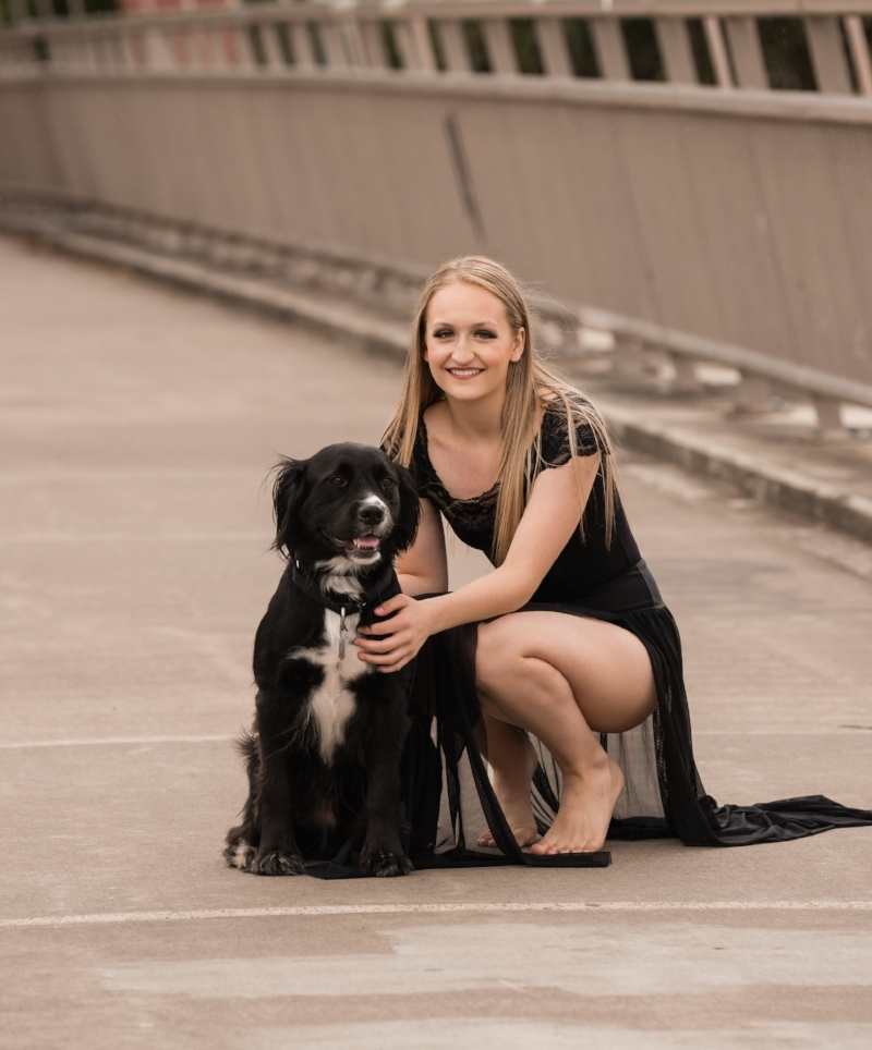 Dancer Profile: Makayla Rice - We were ecstatic to have Christelle Koumoue of NBC16 interview All That! Dancer Makayla Rice about her love for dogs and her involvement in the project. Makayla has danced at All That! Dance Company for over ten years and is currently a senior at Thurston High School. Makayla's own dog, Oliver, is a rescue and she is passionate about animal protection and adoption. This year, Makayla will appear as The Sugar Plum Fairy in the upcoming production of the Nutcracker Remixed, as well as serve as Senior Captain for her competitive dance team. Makayla shines both on and off the dance floor and her dedication makes her the perfect spokesperson for this project.