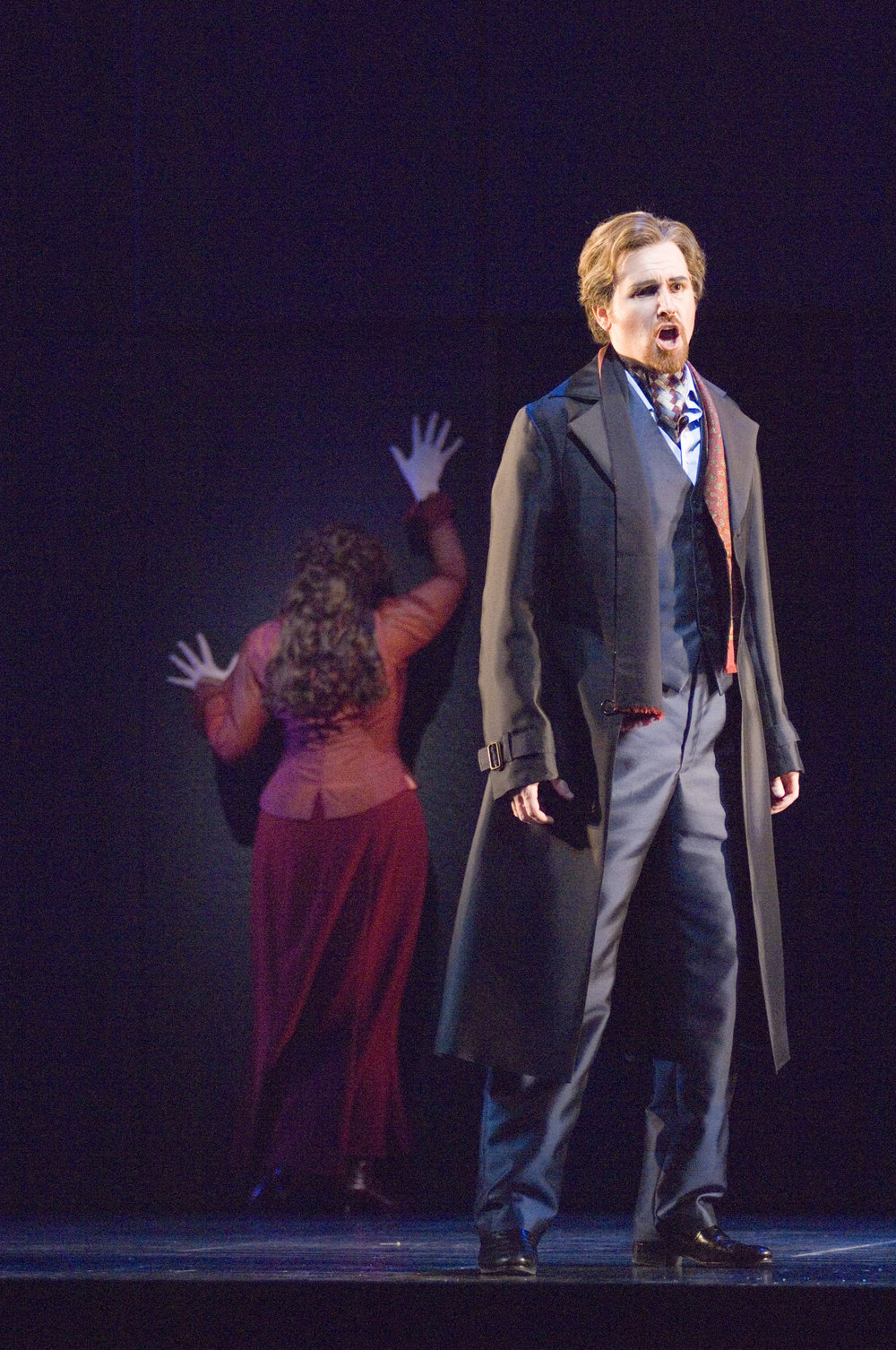 Patrick Miller as Don Ottavio in Don Giovanni with Seattle Opera. Photo by Elise Bakketun.