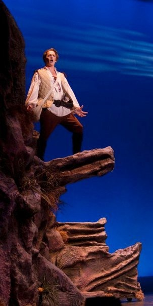 Brian Anderson as Frederic in Pirates of Penzance at Arizona Opera. Photo by Tim Fuller