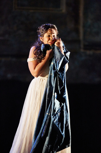 Janai Brugger as Pamina at the Royal Opera House: Die Zauberflote (2015, Photo Credit: Mark Douet)