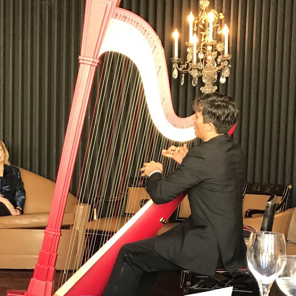 Emmanuel Ceysson, Principal Harpist with the Metropolitan Opera Orchestra