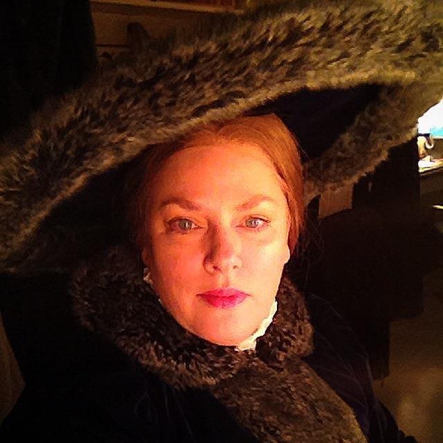 Rebecca, in costume for Andrea Chenier.