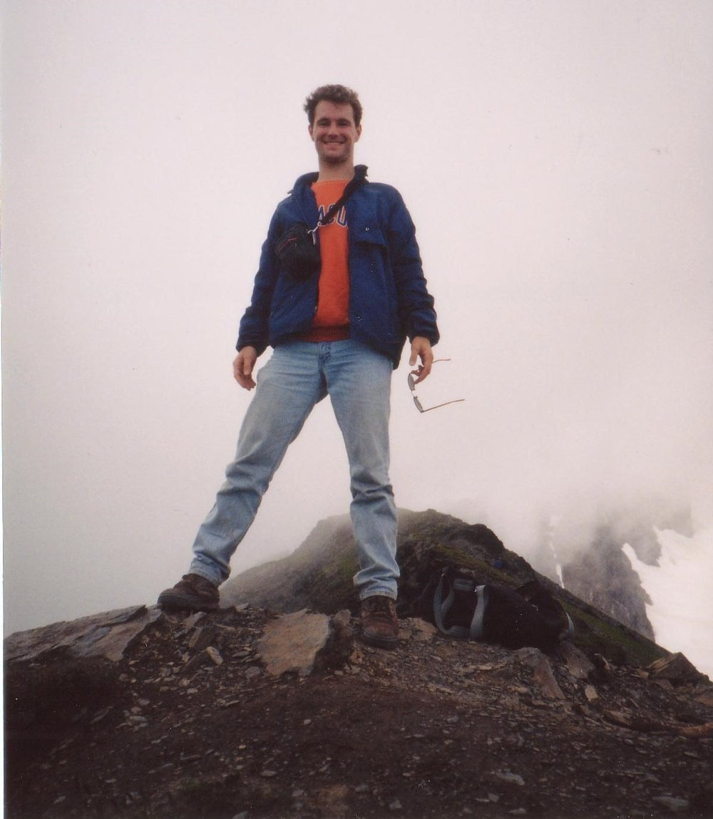 Mike, on top of Mt. Juneau in Alaska.