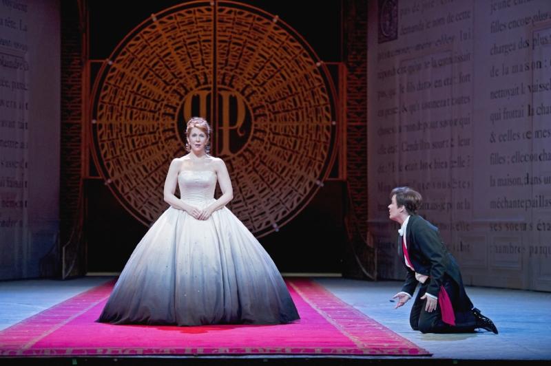 Joyce Di Donato & Alice Coote in a scene from Laurent Pelly's Cendrillon. Photo: Billy Cooper/Royal Opera House