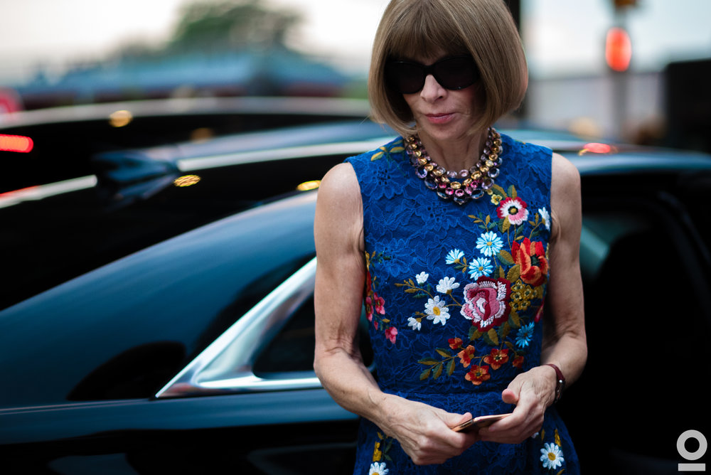 09.09.16 | Anna Wintour | NYFW: Women's SS17 | Pier 16 | New York, NY