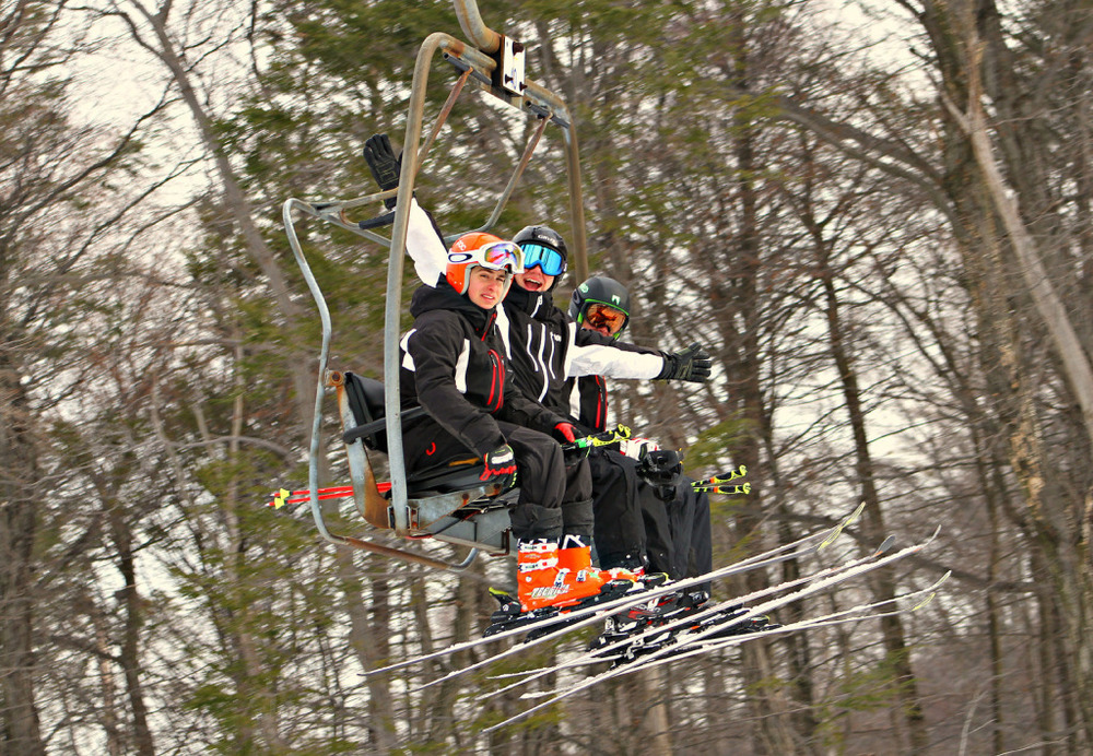 On Chairlift