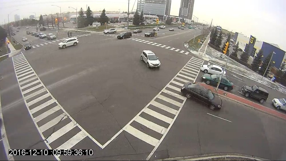 Good camera placement - ✔ Free of obstructions✔ Camera adjacent to intersection✔ Left turn movements within 45 meters (150 feet) of camera