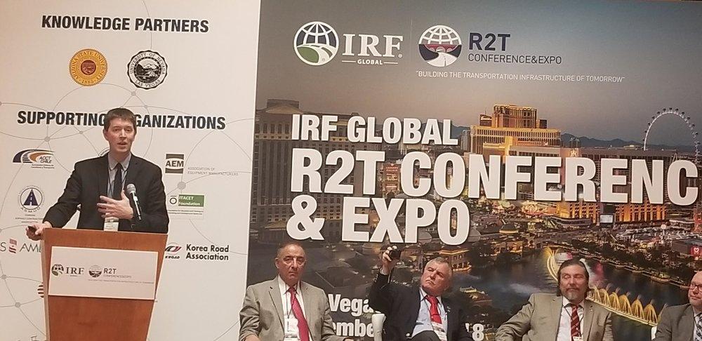 Presenting Video Analytics at IRF Congress.jpeg