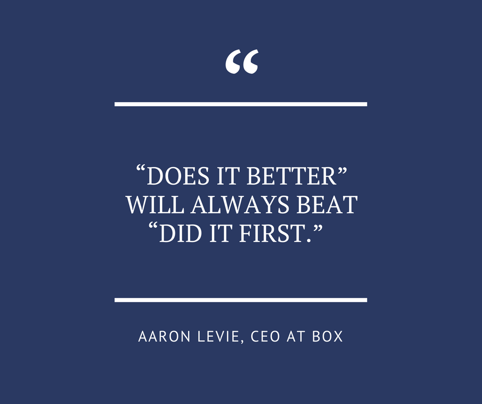 Does-it-better-will-always-beat-did-it-first-aaron-levie