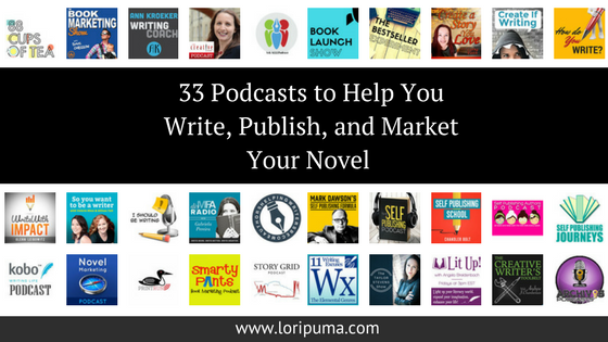 These 33 Podcasts Will Help You Write, Publish, and Promote