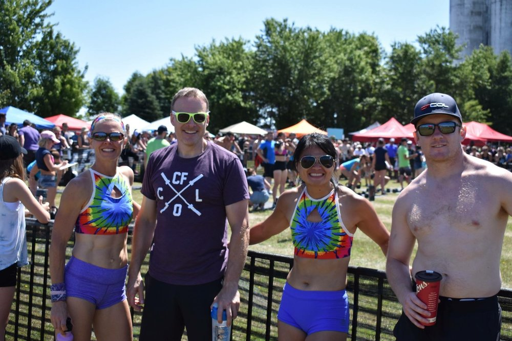Cynthia, Peter, Angie and Hogle at UG Games this last weekend.