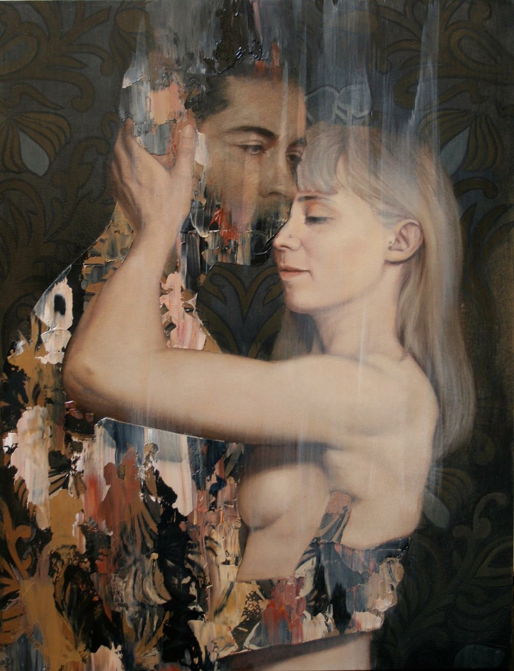 Loveloss - Everpresent 2015, oil on board, 400 x 300mm