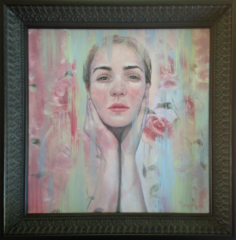 oil on canvas…framed…380x380mm NZ$1800