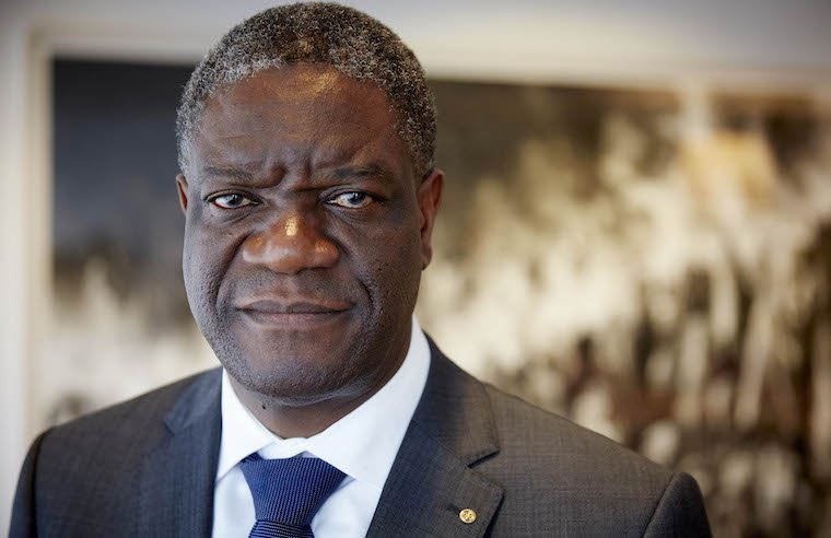Nobel Laureate, Dr. DenisMukwege. Photo: ANP Martijn Beekman.