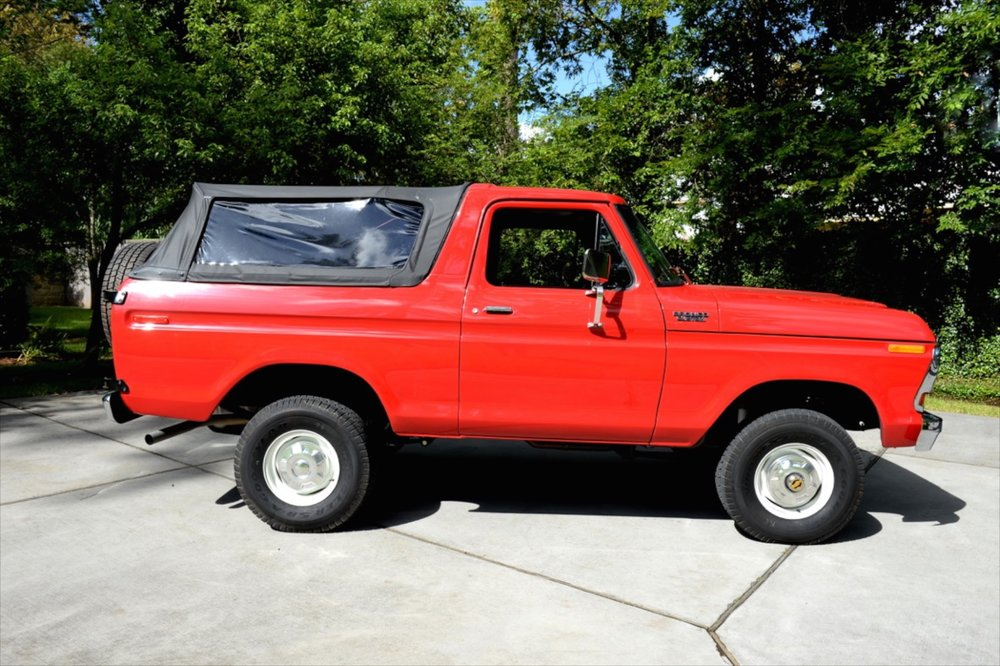 1978 Bronco restored by Classic Cars of Houston