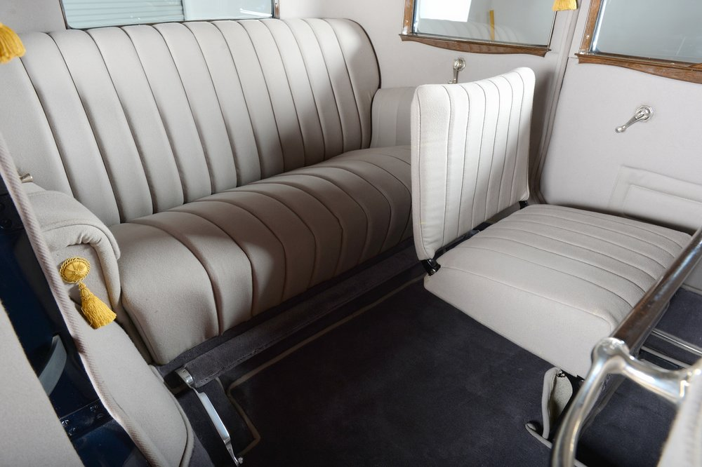 1930 Packard interior restored by Classic Cars of Houston