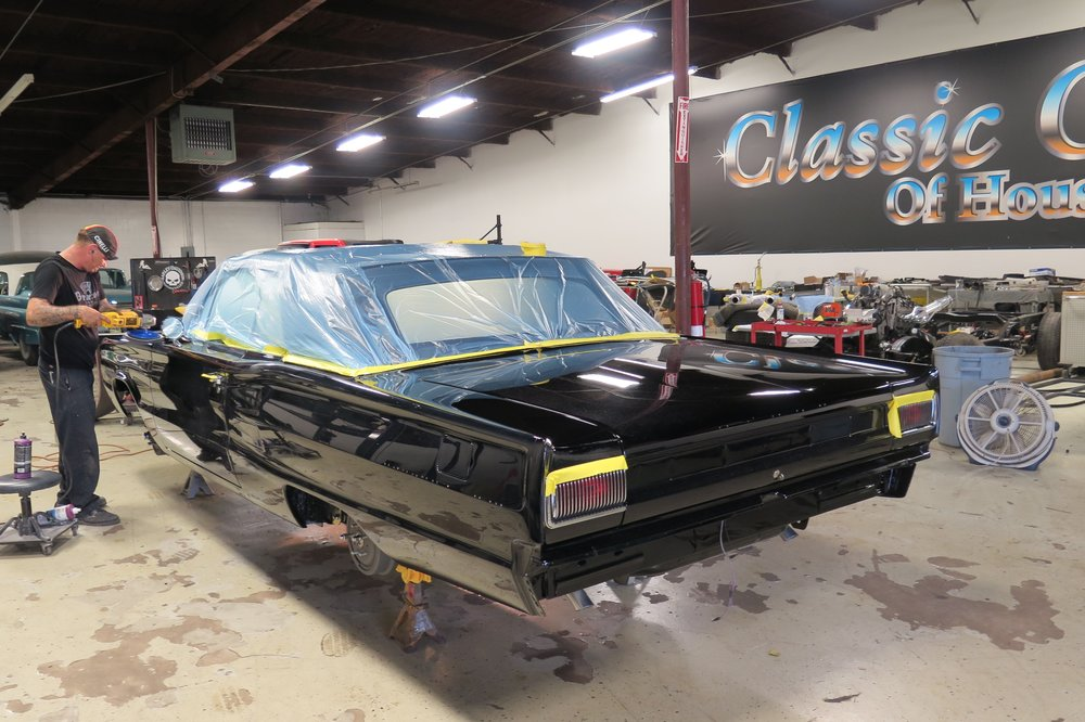 1967 Dodge Coronet restored by Classic Cars of Houston