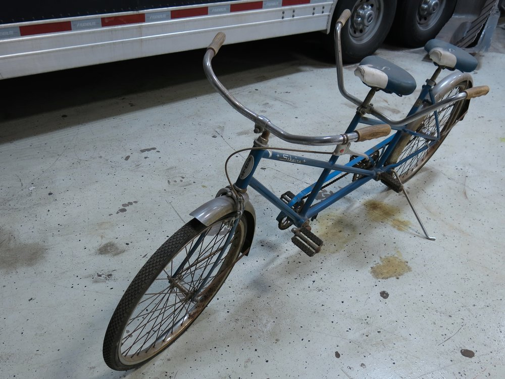 Schwinn Twin Tandem Bicycle restored by Classic Cars of Houston