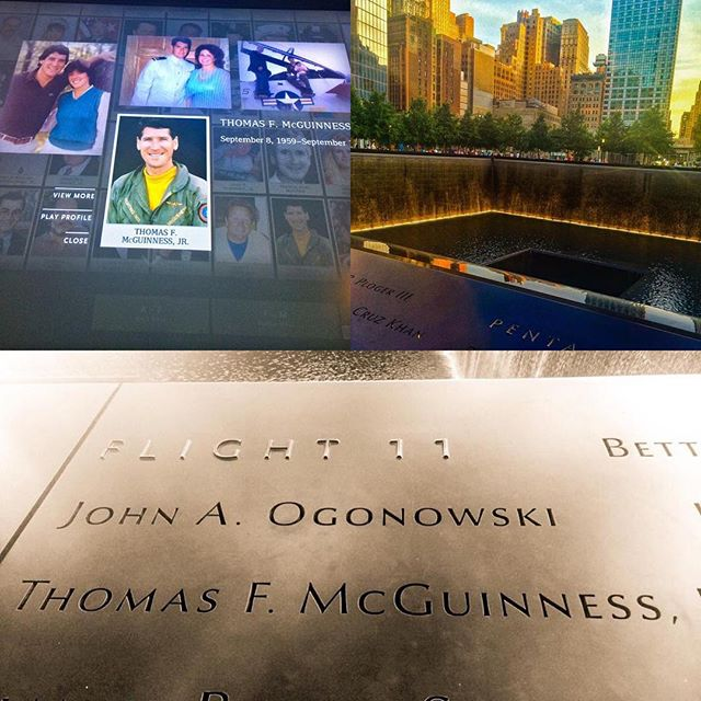 Thinking of two of my dear & close friends on this day today. May we hold our love ones a little tighter & remember how we are never guaranteed tomorrow. Not a single year goes by where this day doesn't weigh heavy on my heart...may we never forget 9/11. #911remembrance #mcguinness #flight11 #september11th2001 #rip #worldtradecenter #america