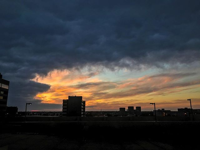 """And I will be to her a wall of fire all around, declared the Lord, and I will be the glory in her midst""-Zechariah 2:5 #naturephotography #wichita #downtownwichita #sunsets #beautiful #verseoftheday #kansas"