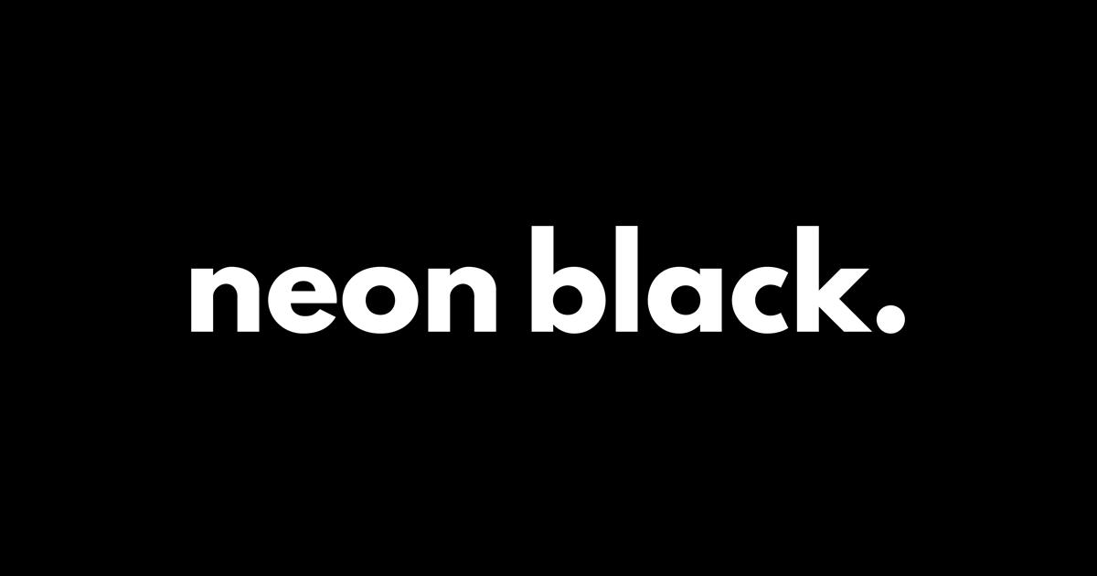 Communications & PR Public Relations Agency Sydney - Neon Black