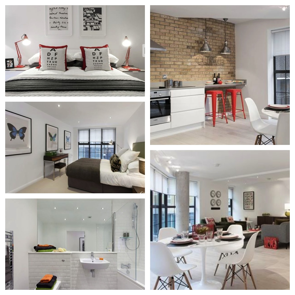 this is a property we styled in east london