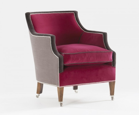 this is a william yeoward upholstered chair sold by ham interiors
