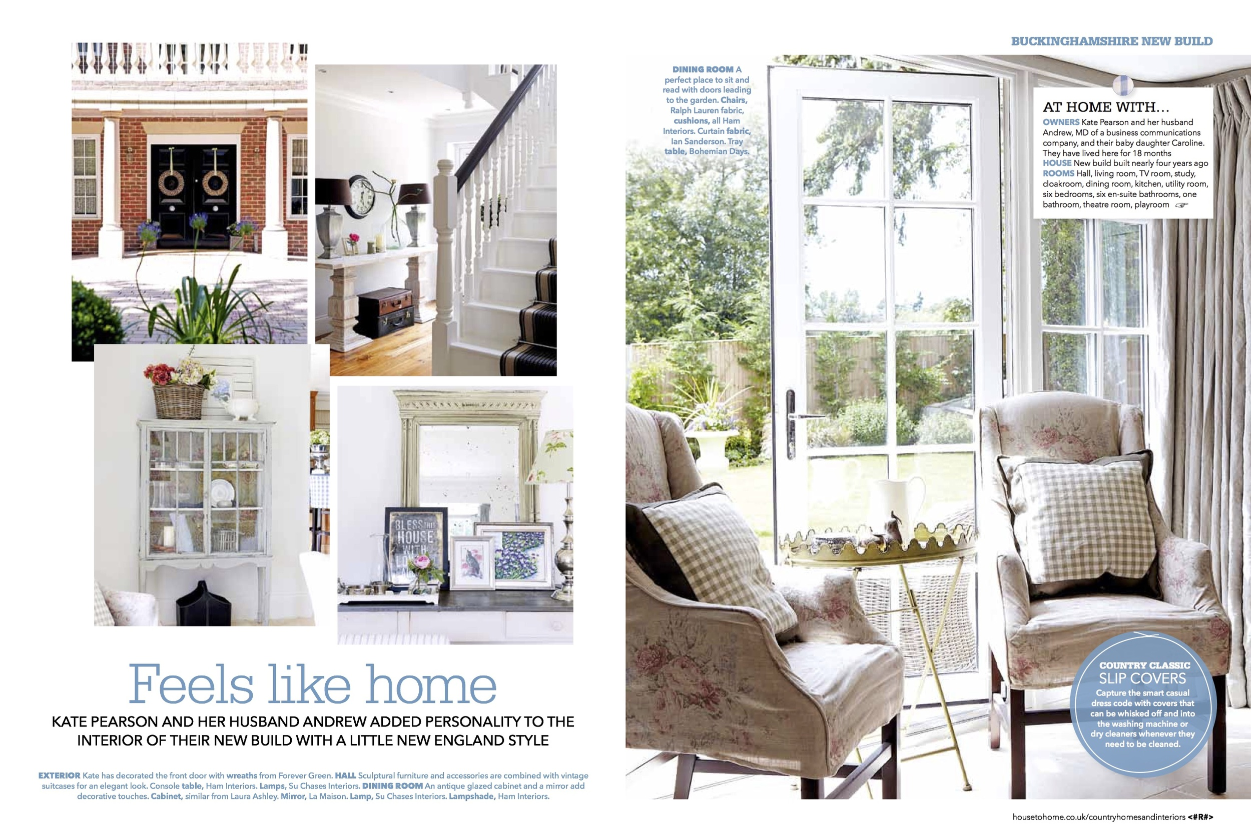 Country Homes — Interior Design | Ham Interiors | Henley On Thames ...