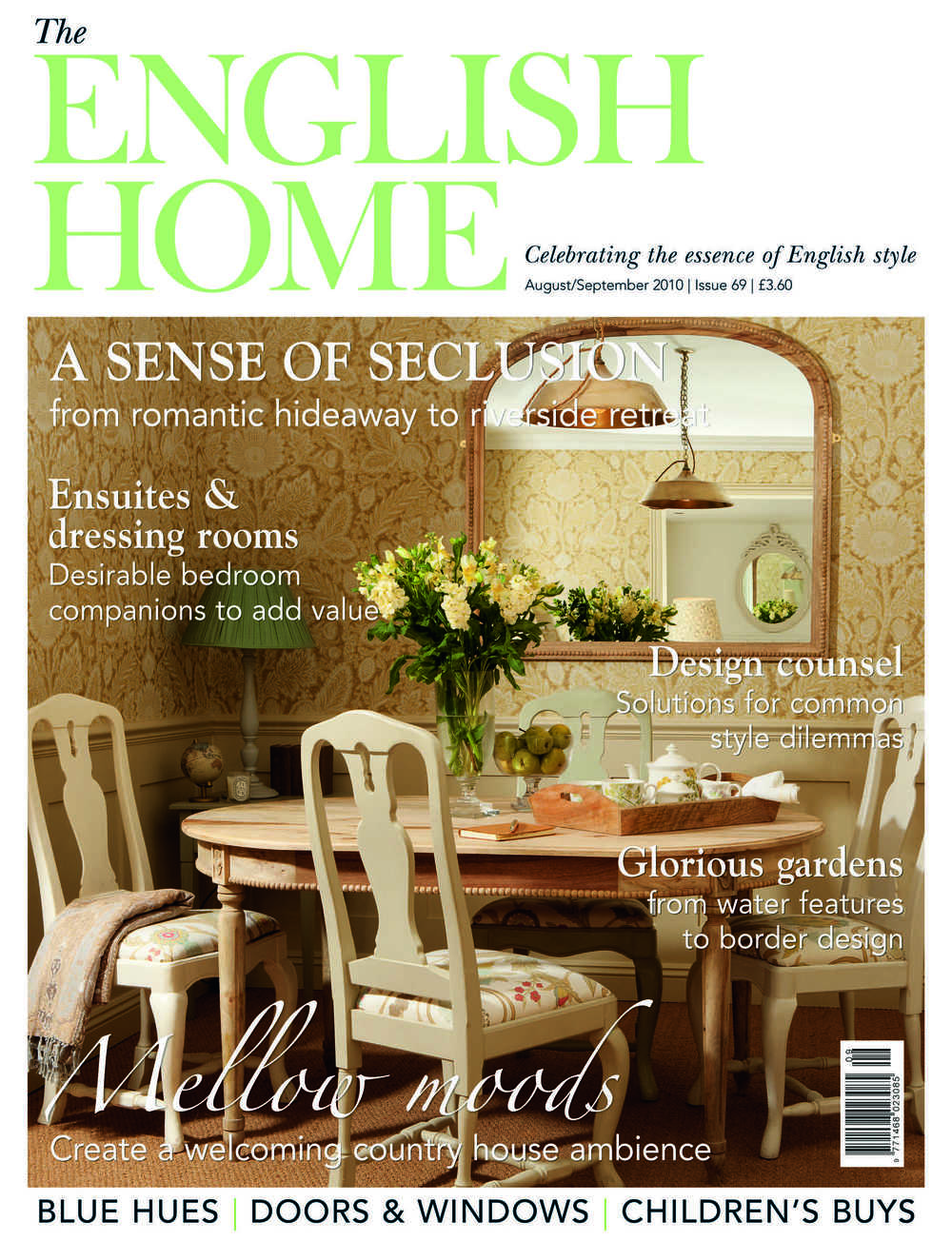 English Home Magazine with Ham Interiors
