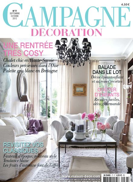 Campagne Decoration Magazine, France