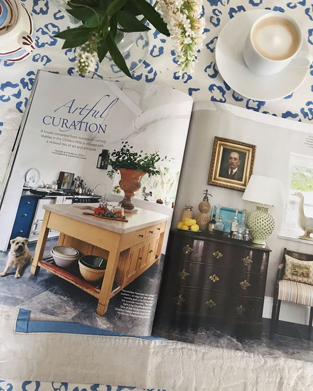 Delighted to have our home included in this months English Home magazine. Thank you @englishhomemag and to the lovely @aliheath_uk & @alexanderjamesphoto  #spotgnasher #haminteriors #englishhome