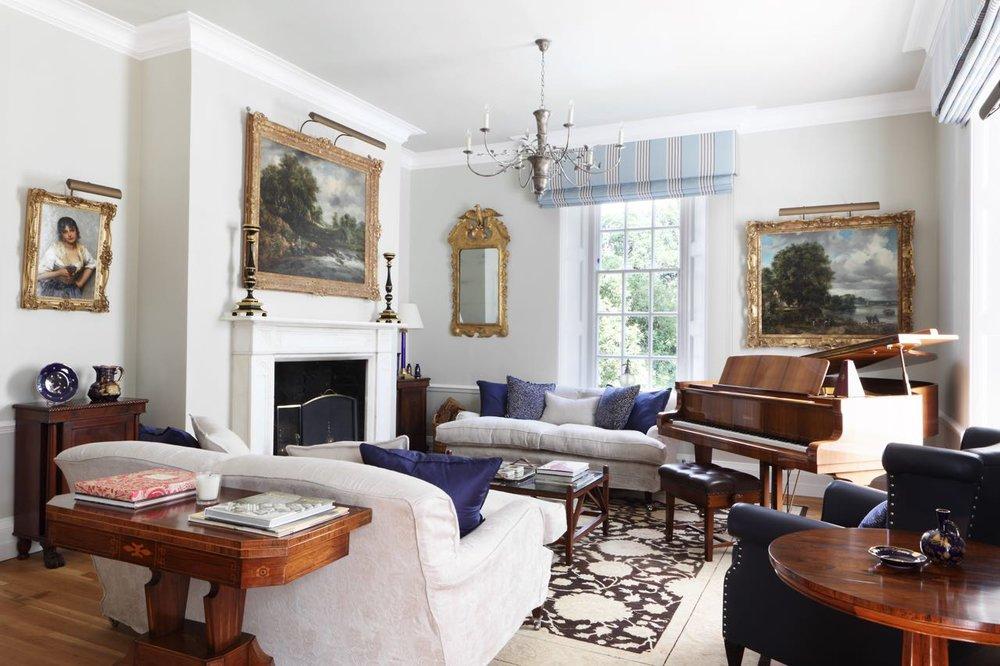 Ham Interiors Lounge Design Manor House Essex