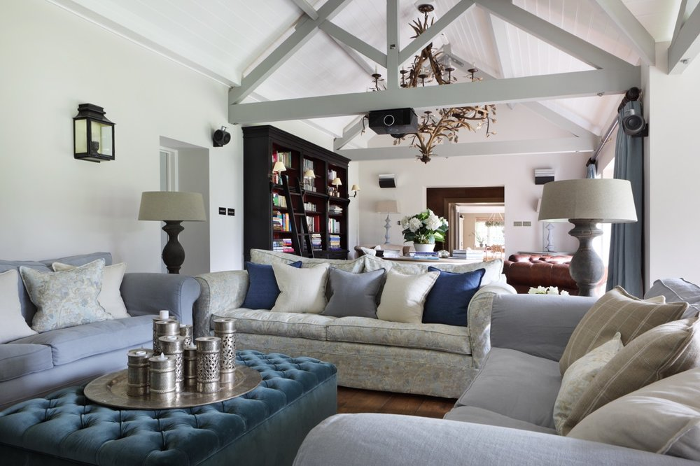 Ham Interiors Lounge Design Hertfordshire Family Home