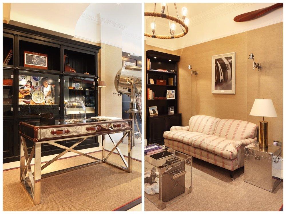 Ham Interiors Display Design Bremont Watch Company