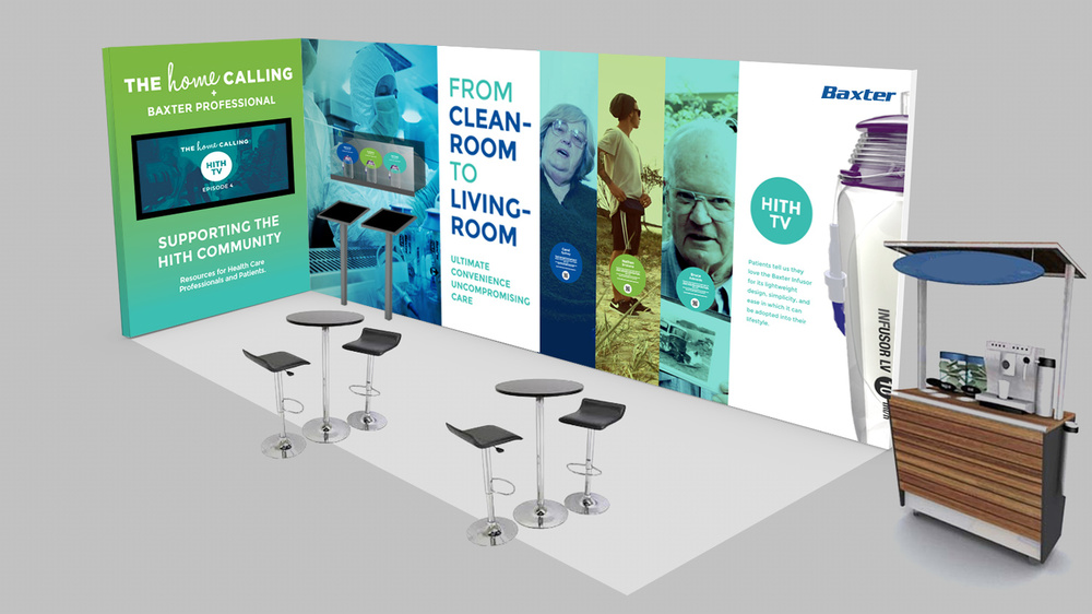 The Home Calling Conference Stand Design