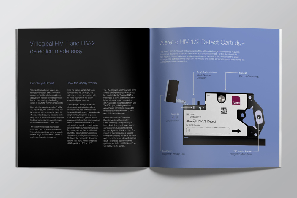 Alere™ q product launch brochure