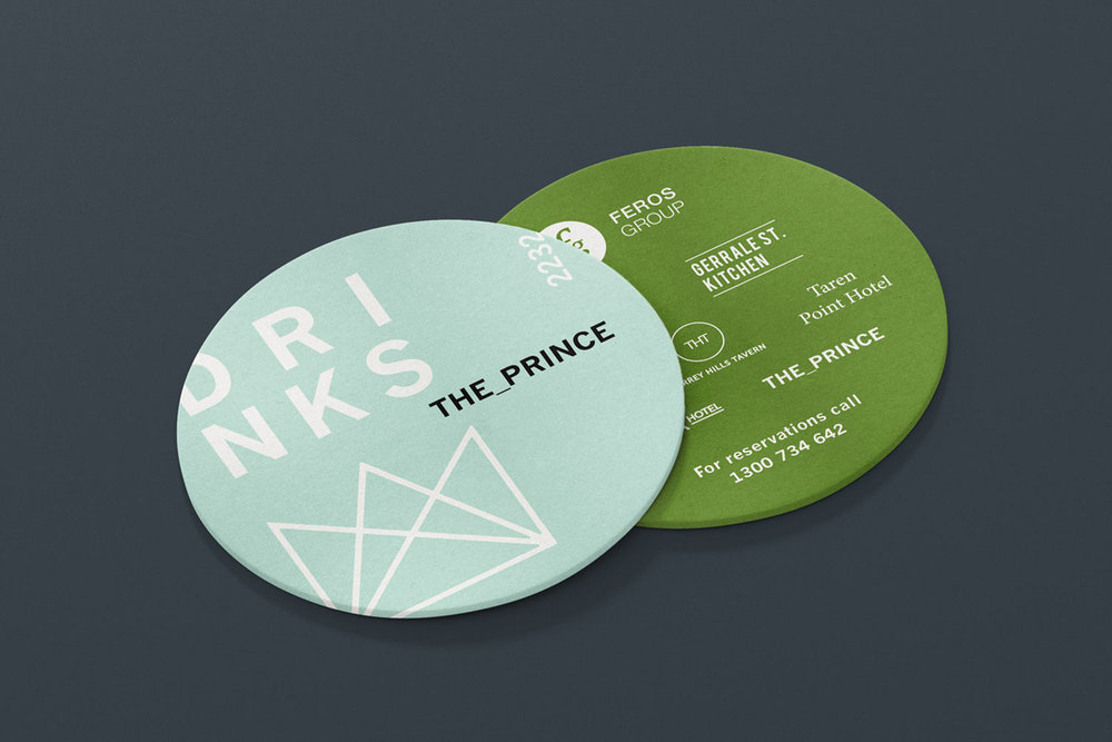 The Prince Coasters