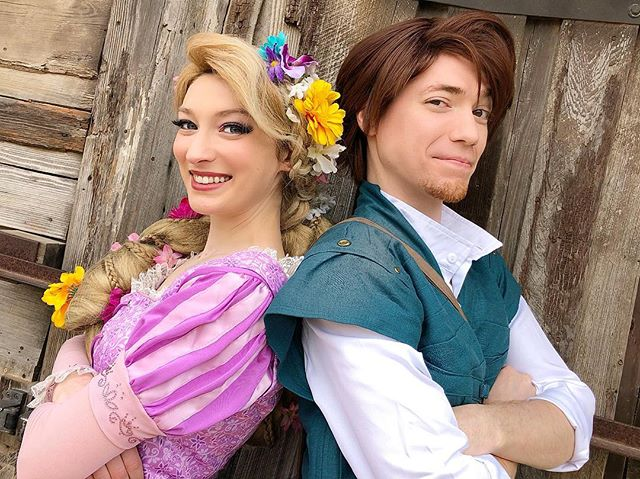 Now that I found you life is always an adventure #partyprincess #princessparty #princessperformer #partyentertainer #princessentertainment #tangled #tangledcosplay #facecharacter #disneycosplay #princesscosplay #cosplaylife #flynnrider #rapunzel #flynncosplay #austin #atx #manchaca #photoshoot #austinprincessparty
