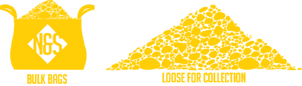loose or bagged aggregates