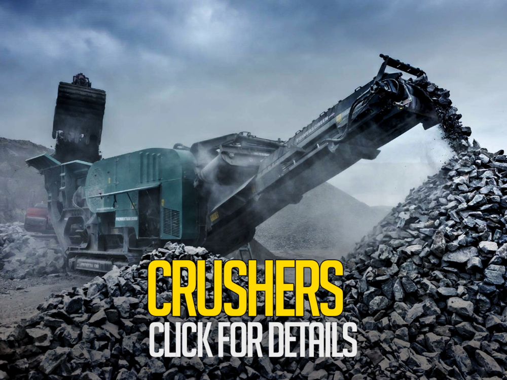 crushers for hire