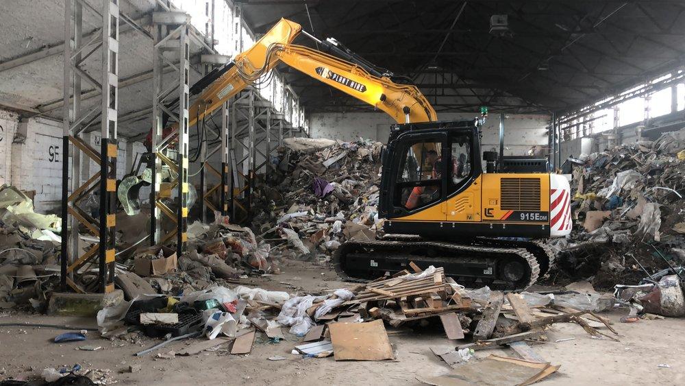 excavator beccles