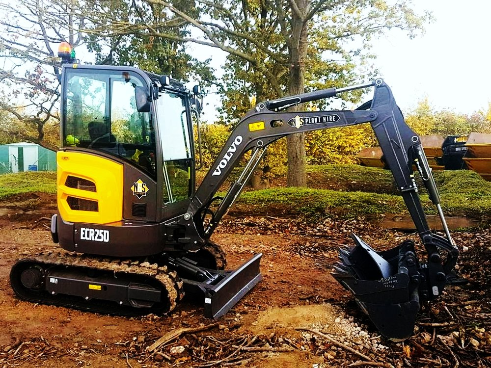 mini digger hire suffolk