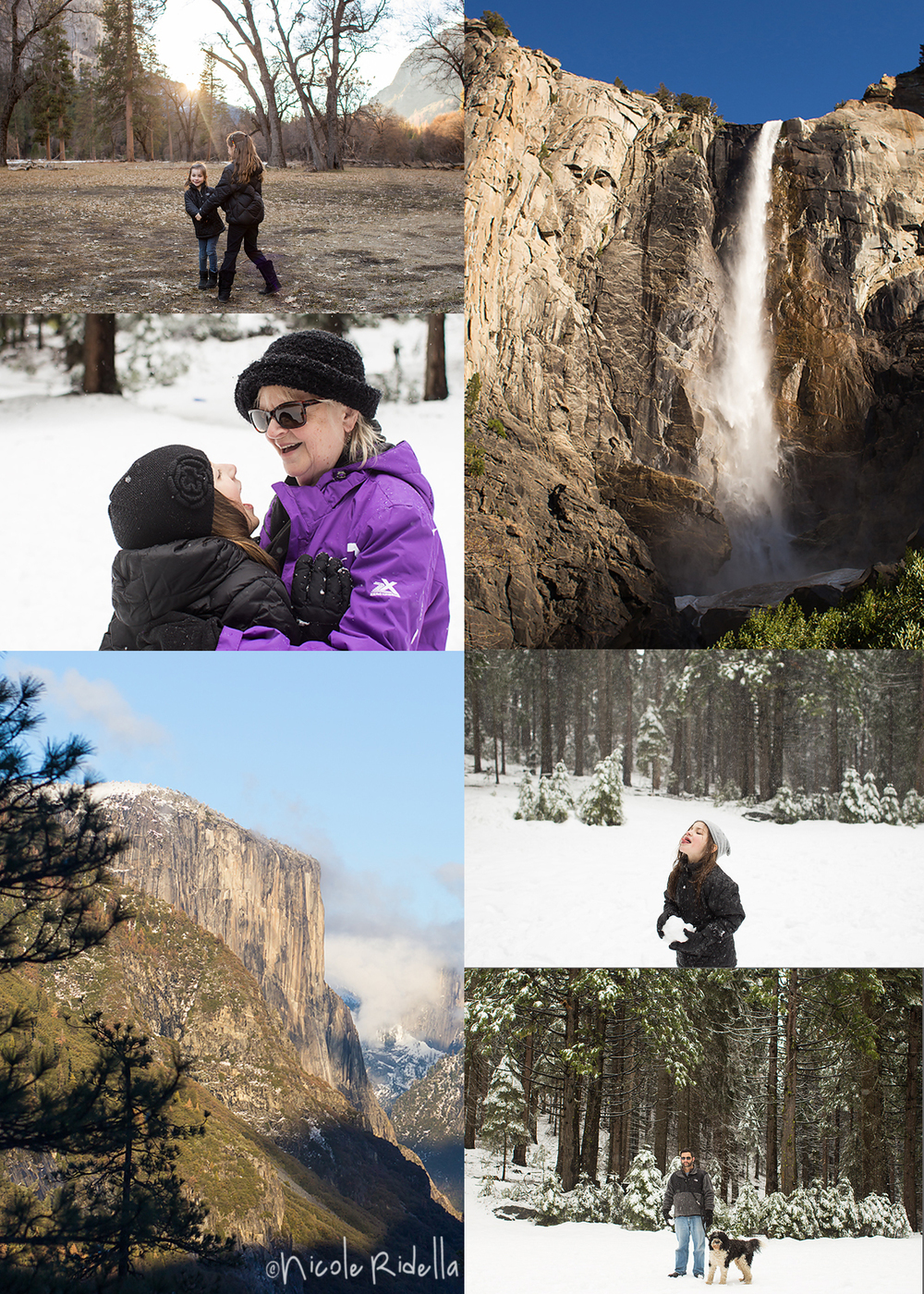 Yosemite National Park.  February 2016.