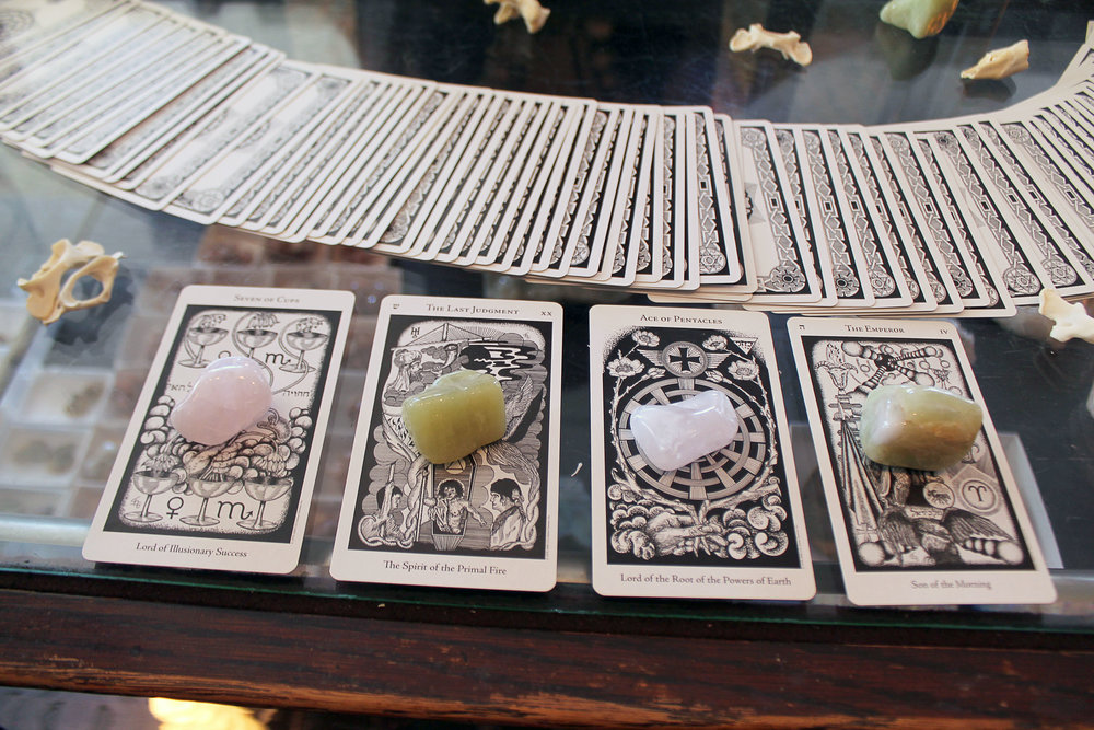 Tarot readings available
